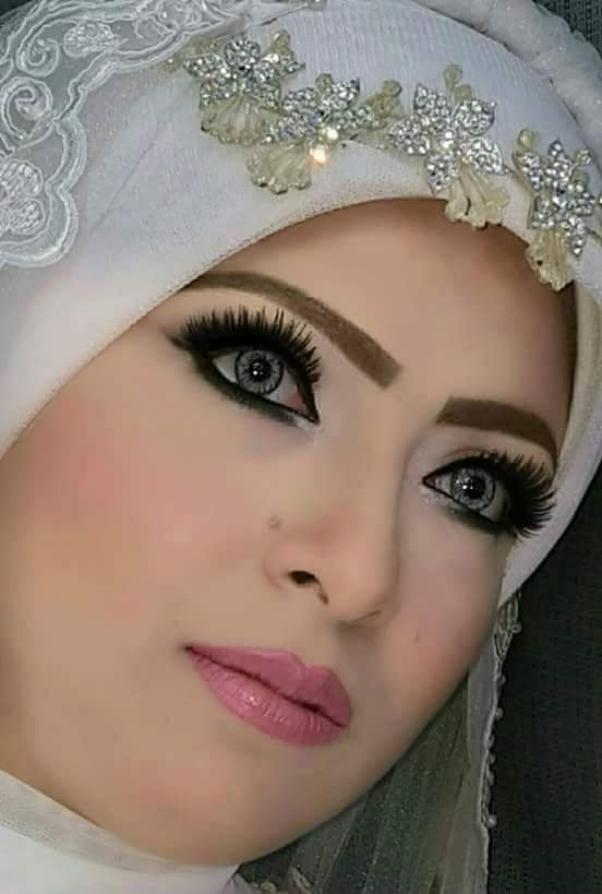 بالصور صور عرايس محجبات , روعة و جمال العرائس المحجبات 1383 8
