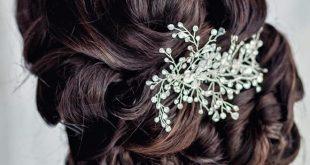 صور احلى تسريحه عروس , جمال شعر العروس و تالقه فى فرحها