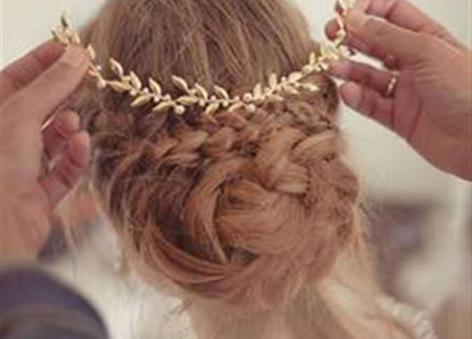 بالصور احلى تسريحه عروس , جمال شعر العروس و تالقه فى فرحها 1403 2