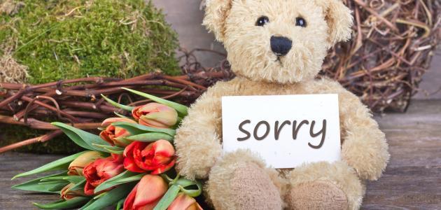 بالصور رسالة اعتذار لصديق , شعور الاسى للاسائه للاصدقاء 1446 9