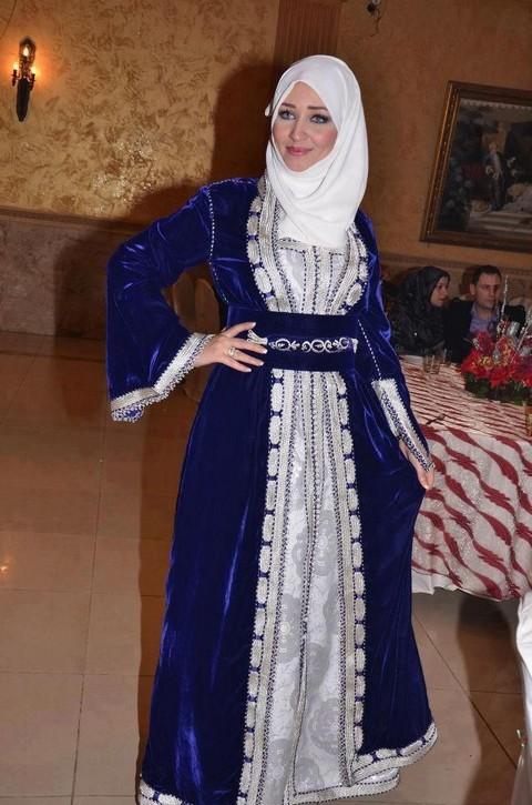 صور قفاطين مغربية , روعة موديلات القفاطين المغربيه