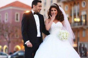 صور اجمل الصور للعروسين , اشيك عروسين بالعالم 2019