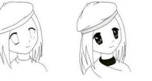 صورة رسم انمي , كيفية رسم الانمي