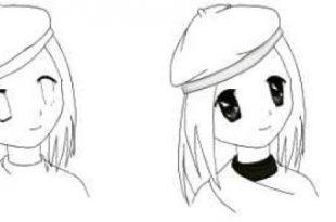 صور رسم انمي , كيفية رسم الانمي