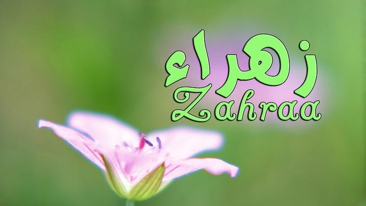 صور معنى اسم زهراء , تعرف على معنى الزهراء