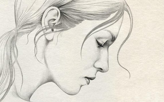 صورة رسومات جميلة وسهلة , الرسم بالرصاص للمبتدئين