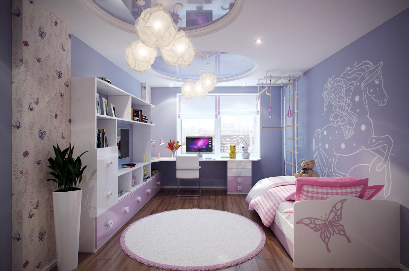 صور ديكورات غرف نوم اطفال , تصاميم غرف اطفال مختلفة