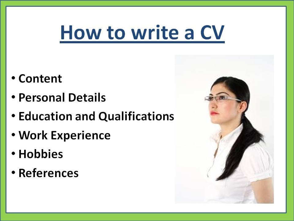 صور كيفية كتابة cv , تعرف علي طريقة كتابة cv
