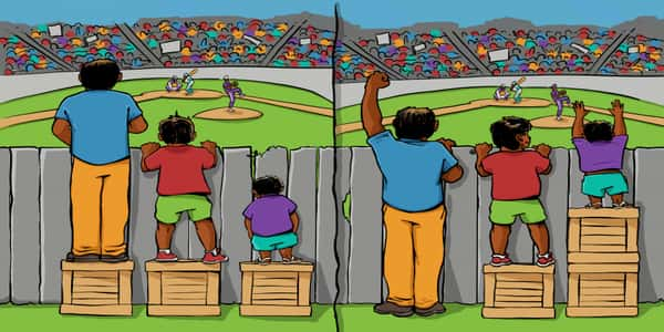 صورة الفرق بين العدل والمساواة , كيفية التميز بين العدل والمساواة