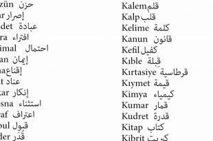 صور كلمات بالتركي , تعلم اهم الكلمات باللغه التركية