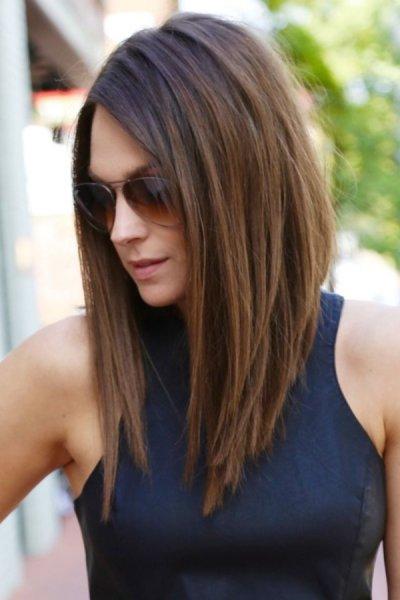 بالصور قصات شعر قصير مدرج , صور افضل قصات الشعر النسائية المدرجة 4240 10