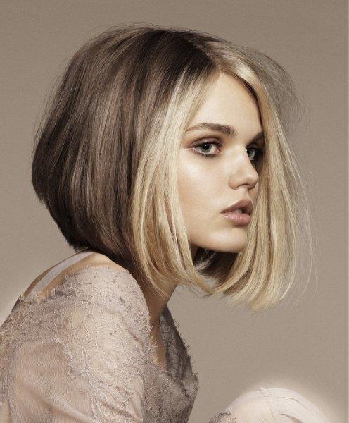 بالصور قصات شعر قصير مدرج , صور افضل قصات الشعر النسائية المدرجة 4240 3