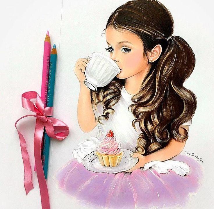 بالصور رسومات بنات حلوه , افضل الرسومات الكرتونية 4296 1