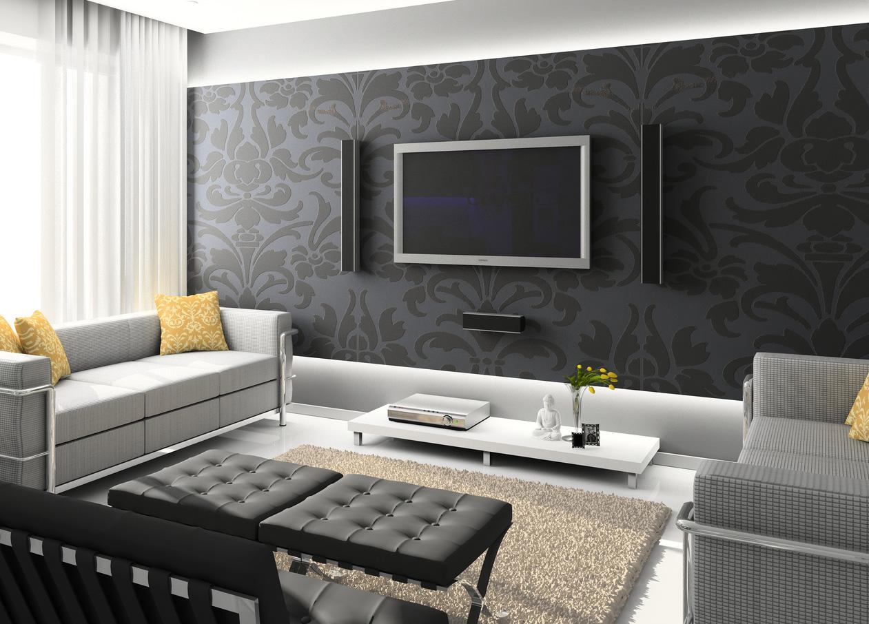 بالصور ورق جدران رمادي , اشيك ورق حائط باللون الرمادي الجميل 4319 10