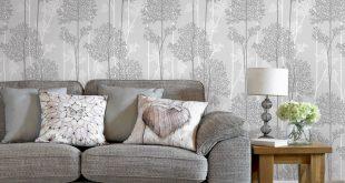 صور ورق جدران رمادي , اشيك ورق حائط باللون الرمادي الجميل