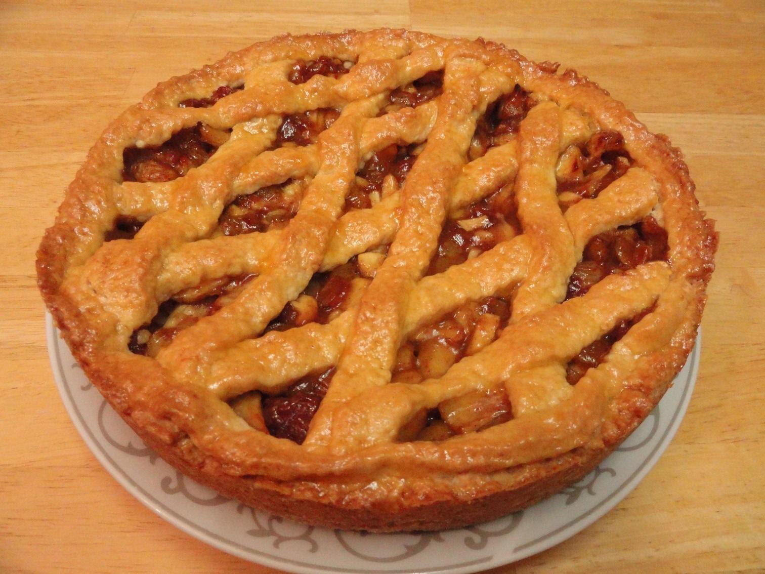 بالصور طريقة عمل فطيرة التفاح , خطوات اعداد فطيره التفاح 4332 2