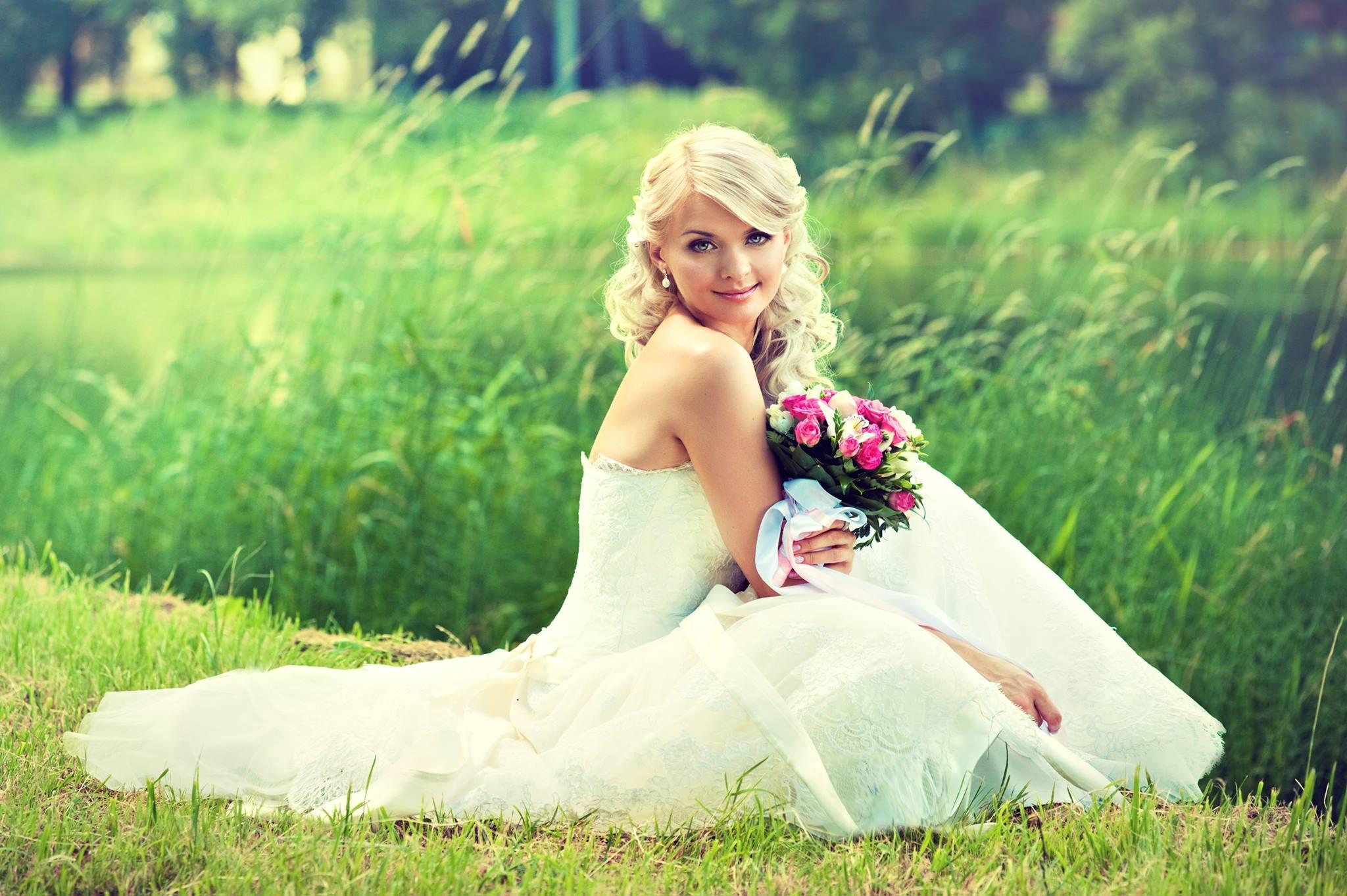 بالصور صور عروسة , اجمل صور للعرائس بالفستان الابيض 4367 1