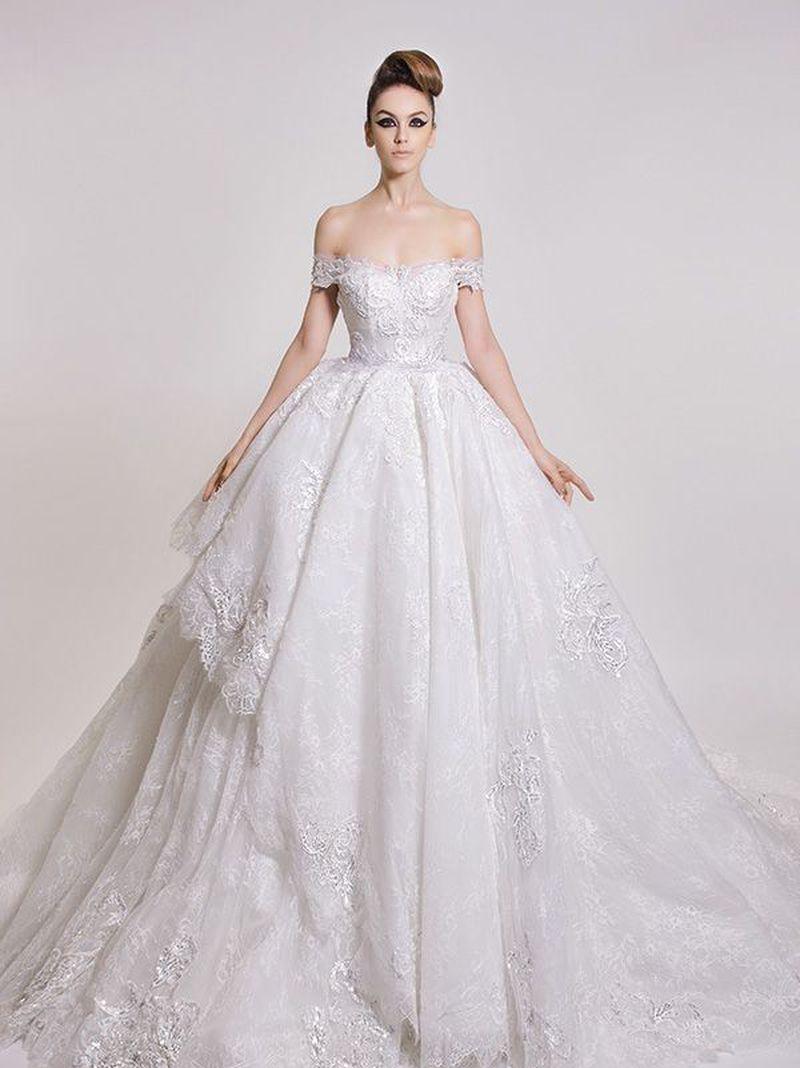 بالصور صور عروسة , اجمل صور للعرائس بالفستان الابيض 4367 6