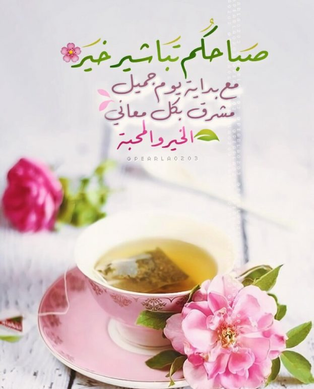 بالصور صباح الجمال , اجمل وافضل الرسائل الصباحية 4448 7