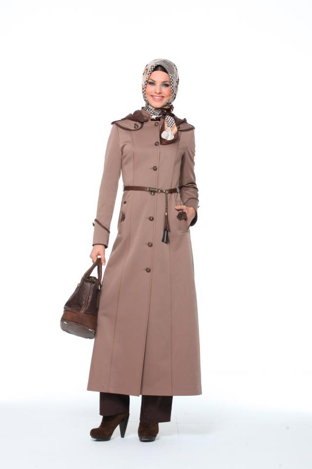 بالصور ملابس شتوية للمحجبات تركية , اجدد الملابس النسائية بتركيا 4455 11