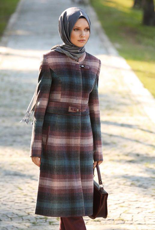 بالصور ملابس شتوية للمحجبات تركية , اجدد الملابس النسائية بتركيا 4455 3