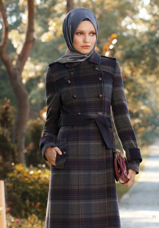 بالصور ملابس شتوية للمحجبات تركية , اجدد الملابس النسائية بتركيا 4455 4