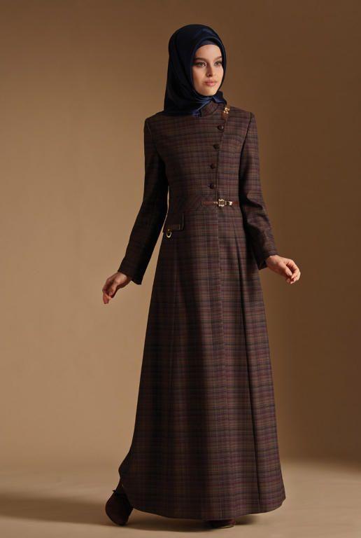 بالصور ملابس شتوية للمحجبات تركية , اجدد الملابس النسائية بتركيا 4455 5