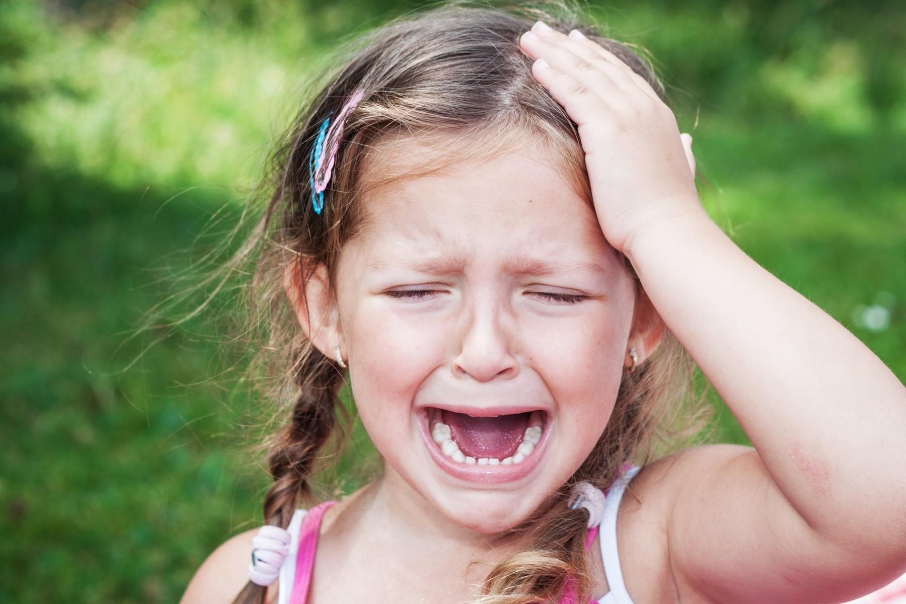 صوره لطفله تبكى