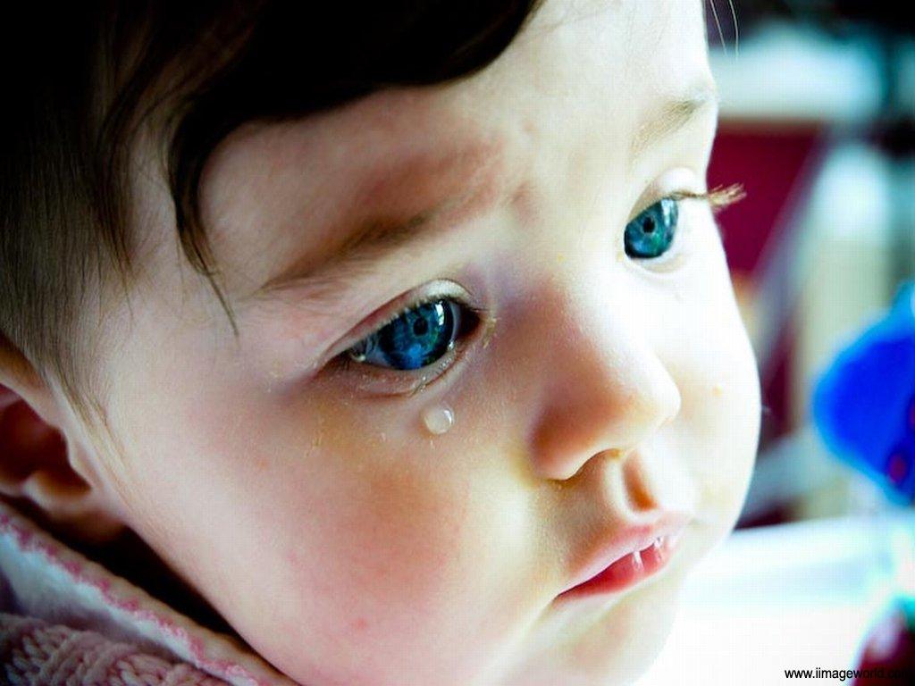 بالصور طفلة تبكي , صور دموع اطفال حزينة 4497 9