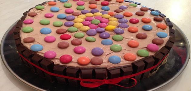 صورة طريقة تزيين الكيك , اشهي الكيكات واطعمها