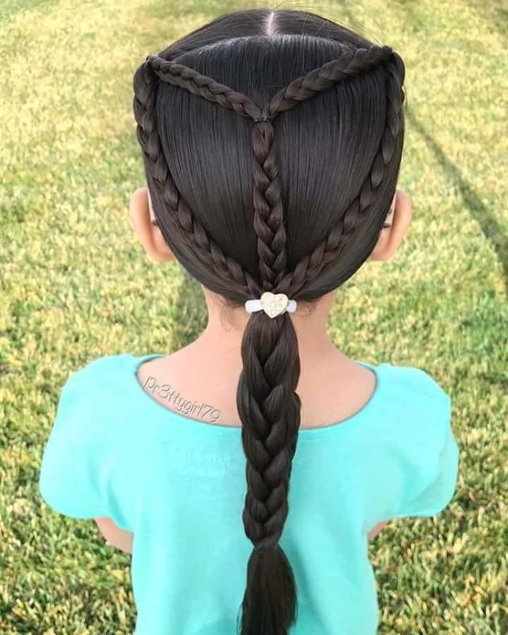 صور تسريحات شعر للاطفال , اجمل اشكال تسريحات للاطفال