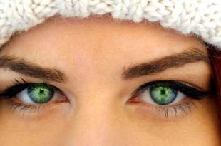 صور مكياج عيون بالصور خطوة خطوة , جمال عيونك باحلي ميكب