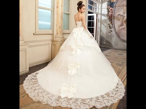صورة فساتين عرايس فخمه , اجمل الفساتين للبنات