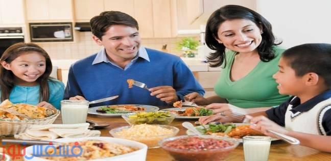 صور الكلام على الطعام , عدم الكلام اثناء تناول الطعام