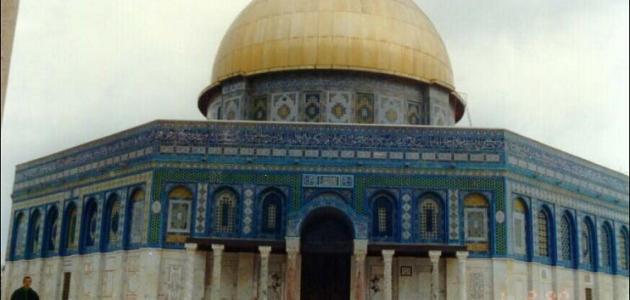 صورة الفرق بين المسجد الاقصى وقبة الصخرة , مقارنة بين مسجدي الاقصي وقبة الصخرة