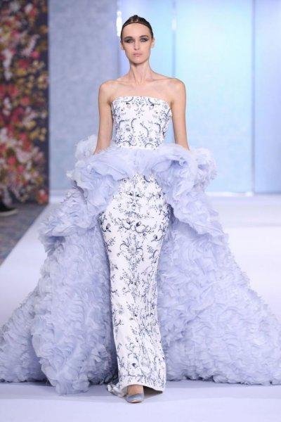 بالصور فساتين زفاف ملونة , فساتين زفاف غير تقليدية ومتعددة الالوان