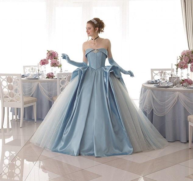 بالصور فساتين زفاف ملونة , فساتين زفاف غير تقليدية ومتعددة الالوان 11306 8