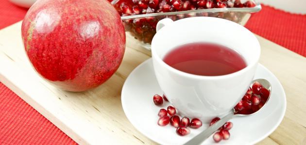 صور فوائد شاي الرمان , لشاي الرمان فوائد جوهرية