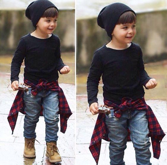 صورة ملابس اولاد , ازياء ولادي شيك