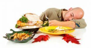 صورة اسباب الشعور بالهبوط بعد الاكل , خمول ما بعد تناول الطعام