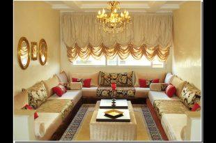 صورة ديكورات صالونات مغربية , اجدد تصميمات صالونات مغربية