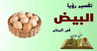 صور تفسير حلم اكل البيض , شرح رؤية اكل البيض في المنام
