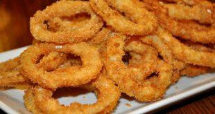 صورة طريقة عمل حلقات البصل المقليه , وصفة حلقات البطاطس المقلية