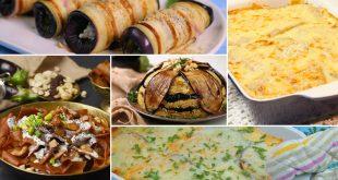 صور اطباق الباذنجان والبطاطس , طريقه عمل صينية الباذنجان و البطاطس