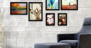 صورة براويز خشب للصور , موديلات براويز خشب