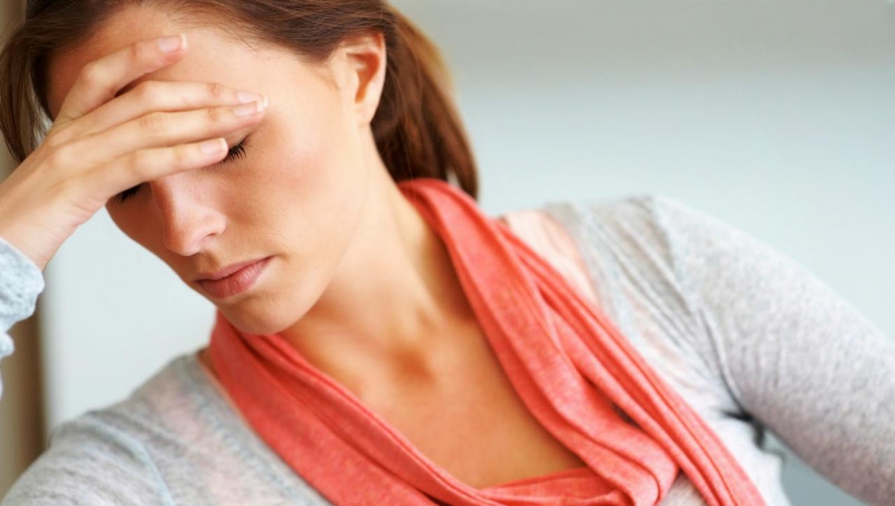 صور اكتئاب الدورة الشهرية , تاثير الدورة الشهريه
