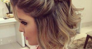 صورة تسريحات شعر للسهرات للشعر القصير , صور موديلات للشعر القصير للسهرات