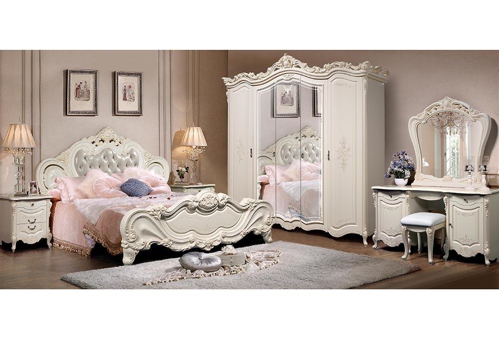 صورة غرف نوم كلاسيك , يا لها من غرفة راقية