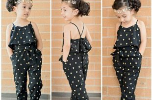 صورة ملابس اطفال بنات , انظرى انها طفلة شيك جدا