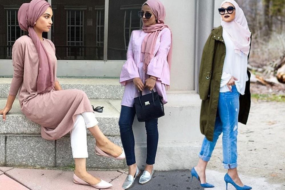 صورة لبس بنات محجبات , اجمل لبس بنات محجبة 2019
